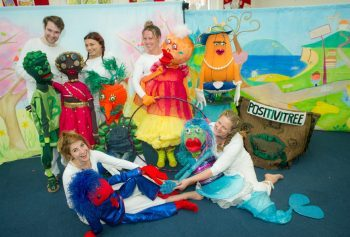 Musical puppet show children's theatre