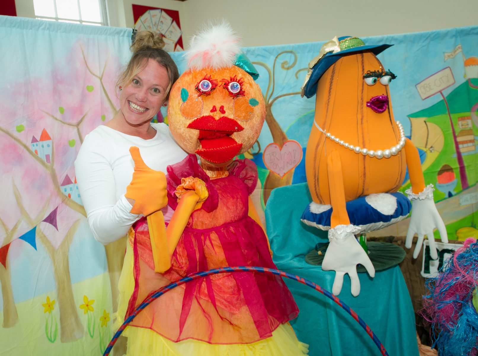 Savour the Flavour - Planet Munch Puppet - Angie Mack and Kerry Lanigan