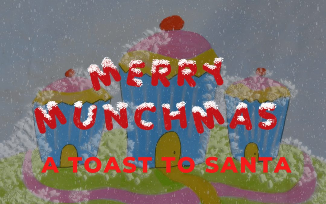 To Santa and his holey pants, we dedicate our festive bants.