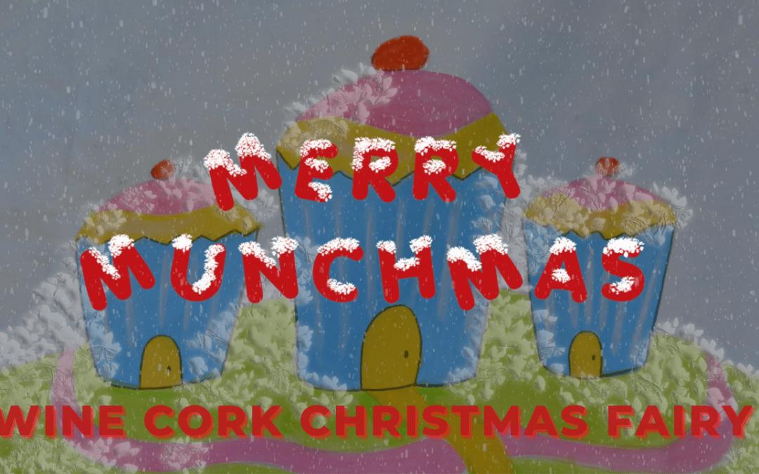 Merry Munchmas – Corking – Make a wine cork Christmas tree fairy with Kerry