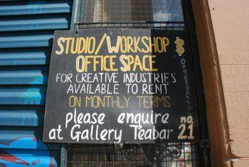 Art Studios to rent in Nottingham.