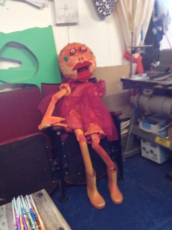 Peachy Puppet.
