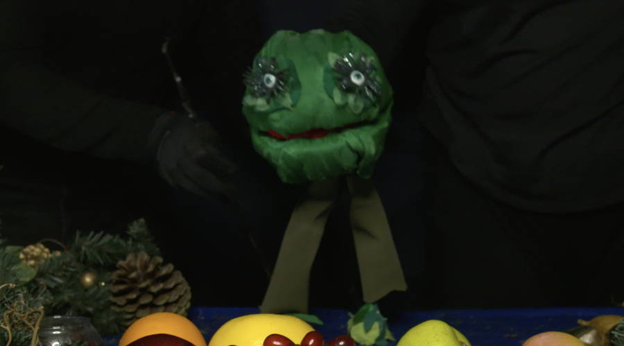 B-Russel Sprout Puppet